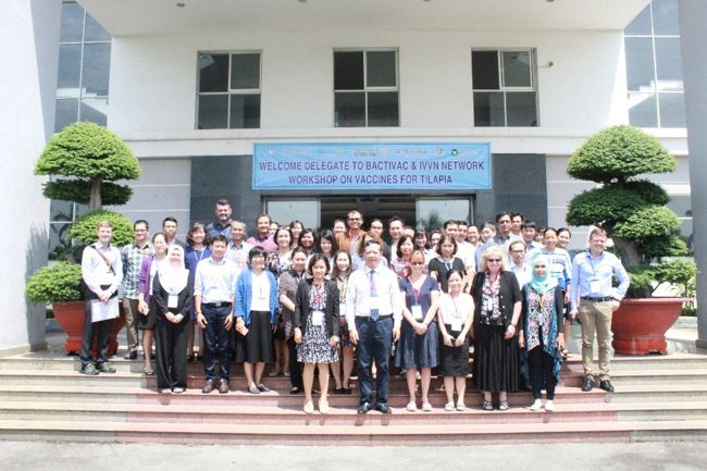 """""""BactiVac and IVVN Network workshop on Vaccines for Tilapia"""" at Biotechnology Center of Ho Chi Minh city, Vietnam, 23rd-25th September 2019"""