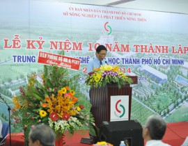 10th anniversary of the establishment of the Center for Biotechnology Ho Chi Minh City